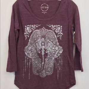 NWT Lucky Brand Ladies' Graphic Tee